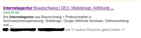 Suchergebnisse Internetagentur eingeloggt