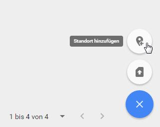 Google MyBusiness Standort hinzu