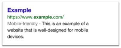 Google belohnt mobile Seiten