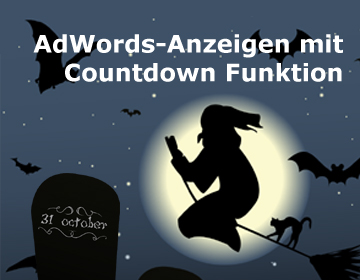 AdWords Countdown Halloween