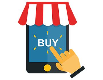 Kauf über Tablet