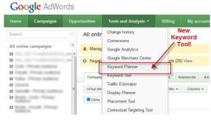 AdWords Keyword Planer