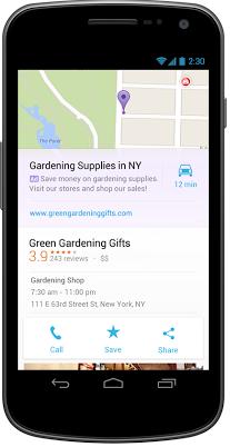 AdWords Google Maps Anzeige