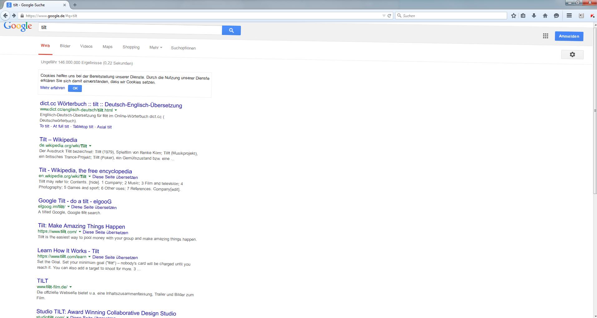 """Google-Fenster """"tilt"""""""