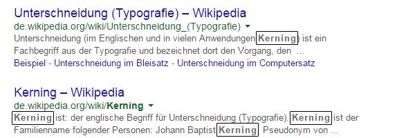 "Google-Suche ""kerning"""